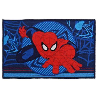 Bajada de cama infantil Spiderman 80x120 cm multicolor