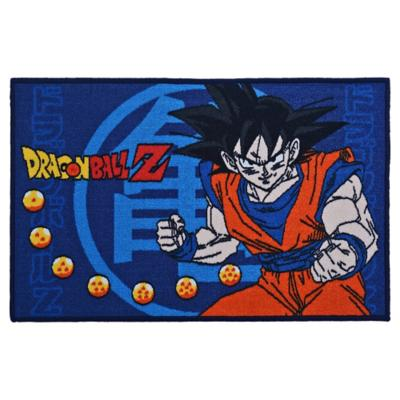 Bajada de cama infantil Dragonball Z 80x120 cm multicolor