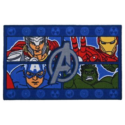 Bajada de cama infantil Avengers 80x120 cm multicolor