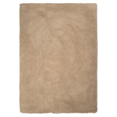 Alfombra shaggy sherpa 133x190 cm beige