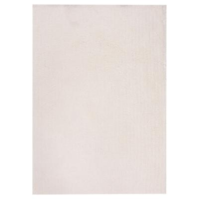 Alfombra shaggy sherpa 160x230 cm blanco