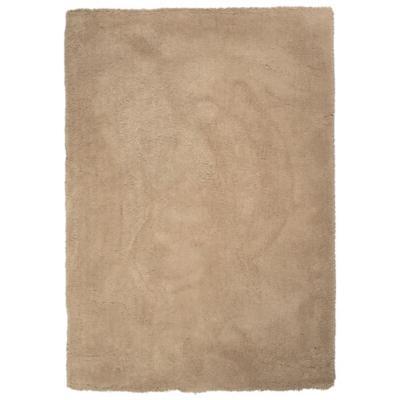 Alfombra shaggy sherpa 160x230 cm beige