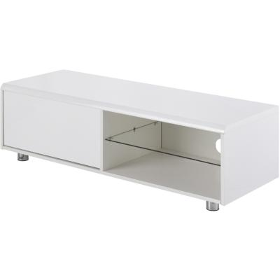 Rack de TV 37x120x45 cm blanco
