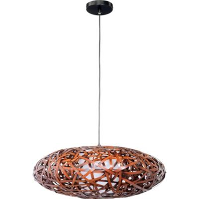 Lámpara de colgar Bambú Nido Café
