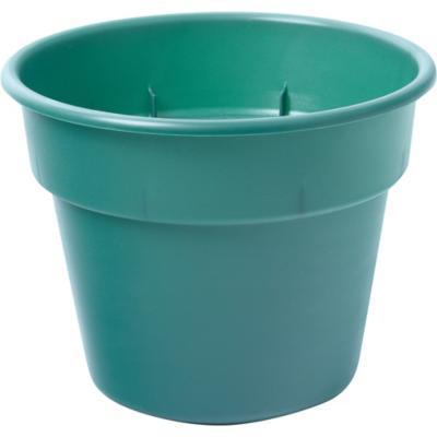 Macetero de plástico 17 cm verde