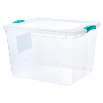Caja organizadora 45 litros 50x40x31 cm transparente