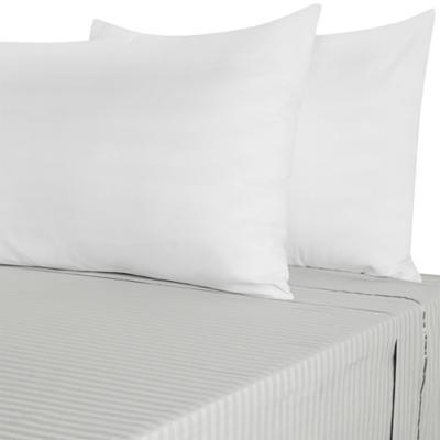 Set de 2 fundas para almohadas 50x90 cm blanco