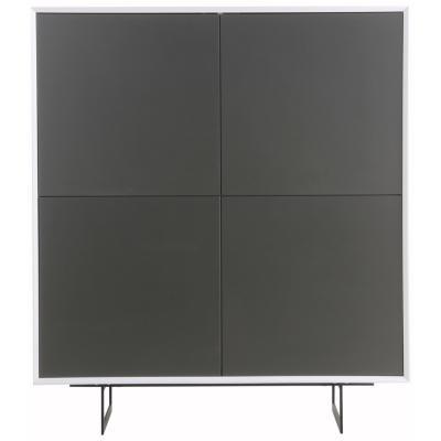 Gabinete 2 repisas 125x110x45 cm