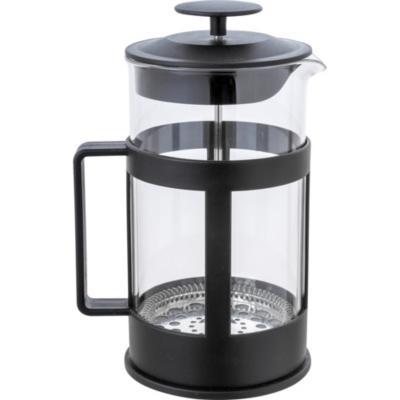 Cafetera francesa vidrio 1000 ml Negro