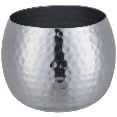 Votivo aluminio 12x12x8 cm