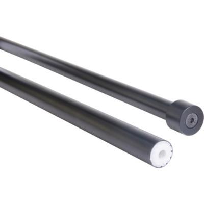 Set de Barra Cortina 19/16 mm extensible 112-274 cm Negro