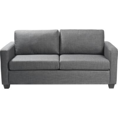 Sofá cama 180x92x85 cm gris