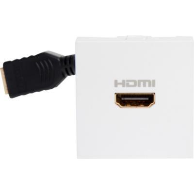 Módulo toma HDMI Blanco