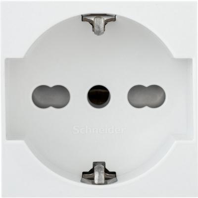 Módulo tomacorriente 10 a16 A Blanco