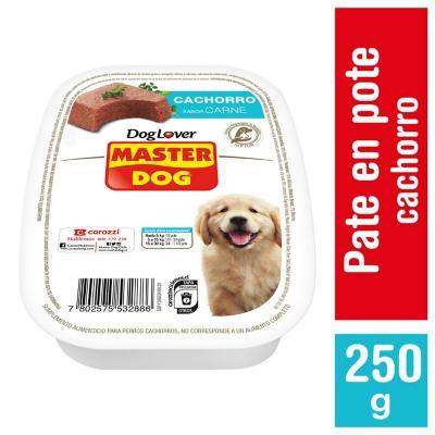 Alimento húmedo para cachorro 250 gr carne