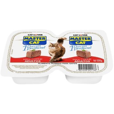 Alimento húmedo para gato adulto 130 g carne