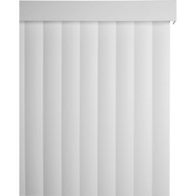Cortina vertical PVC 200X215cm blanca