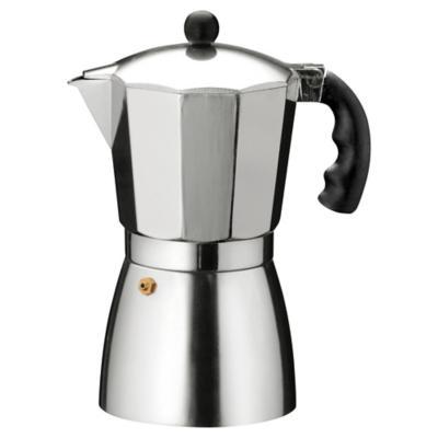 Cafetera aluminio 3 tazas gris