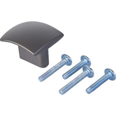 Perilla volantín titanio mate 16mm