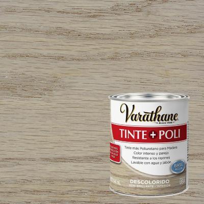 Tinte poliuretano a base de agua semibrillante 0,9 l