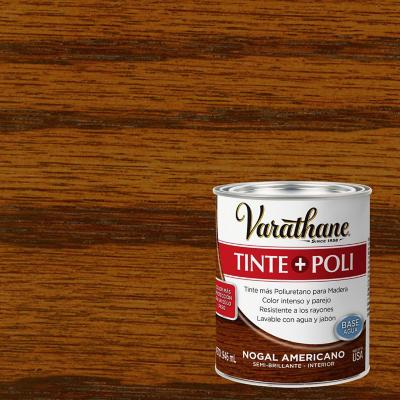 Varathane tinte + poliuretano base agua  n ame 0,9l