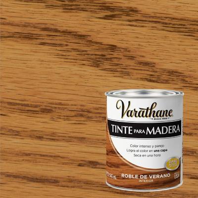 Varathane tinte roble veran  1/4 gl