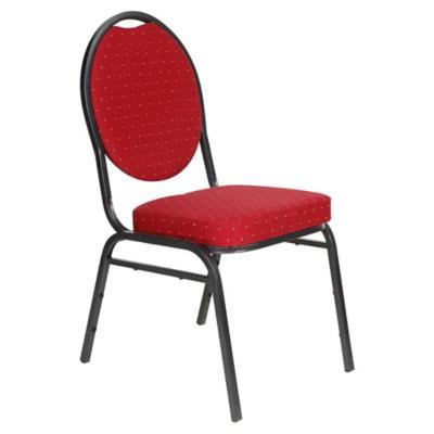 Silla de salón burdeo 48x57x90 cm rojo
