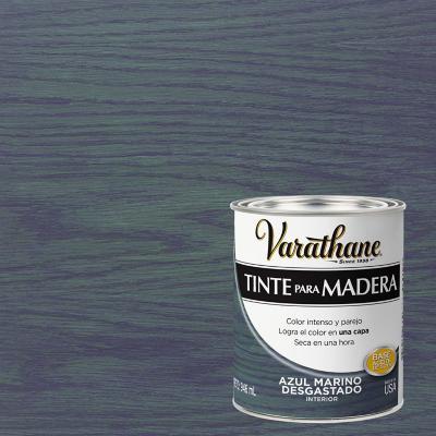 Varathane tinte azul marino desgastado 1/4 gl