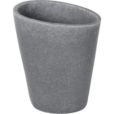 Vaso para baño gris