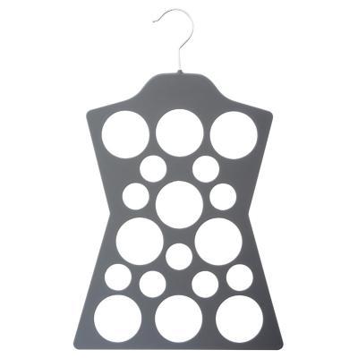 Colgador para pañuelos plástico gris