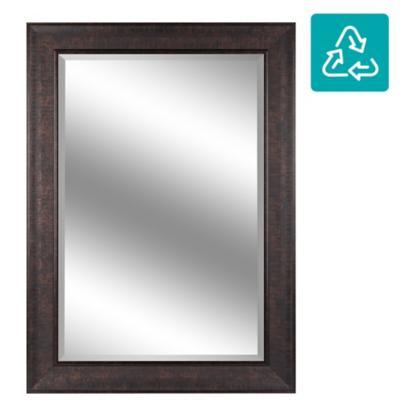 Espejo 78x108 cm cobre Ondas