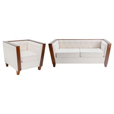 Juego de living sofá 3 cuerpos + sillón
