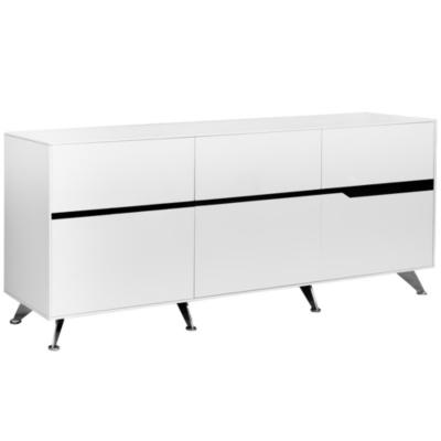 Mueble gabinete C 185x42x80 cm blanco