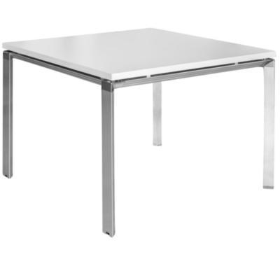 Mesa 75x100x100 cm gris