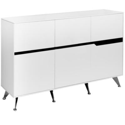 Mueble gabinete C 185x42x155 cm blanco