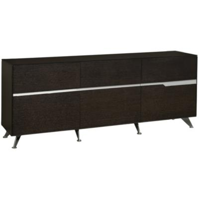 Mueble gabinete C 185x42x80 cm rojo oak