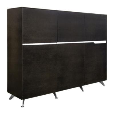 Mueble gabinete C 185x42x155 cm rojo oak