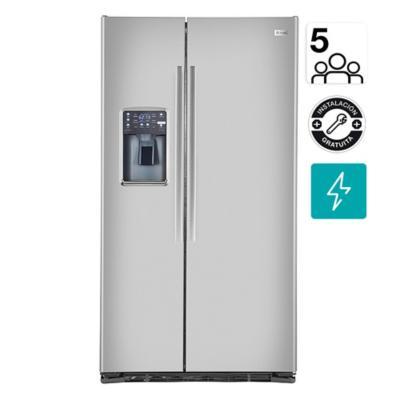Refrigerador side by side 724 litros inox