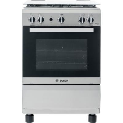 Cocina a gas 4 quemadores 65 litros gris