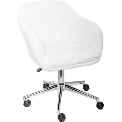 Sillón PC Diseño Copito 94x57x60 cm Blanco