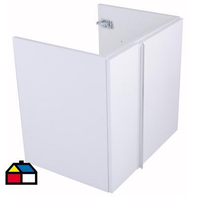 Mueble vanitorio 59,5x56,5x44,3 cm Blanco