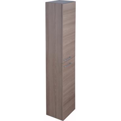Columna auxiliar para baño 150x30x24 cm nogal