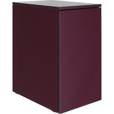 Mueble para baño 56,5x44,3x30 cm berenjena