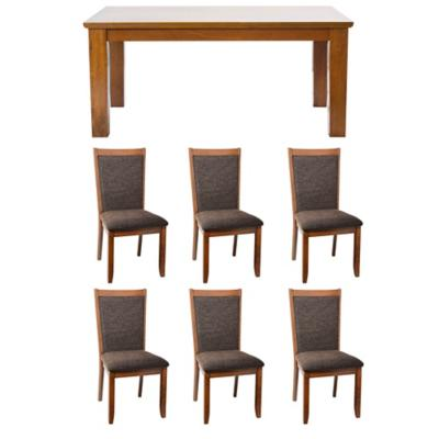 Juedo de comedor mesa Rich 6 sillas Bali