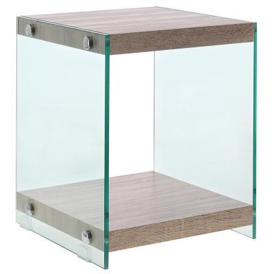 Mesa lateral Book 35x35x45 cm