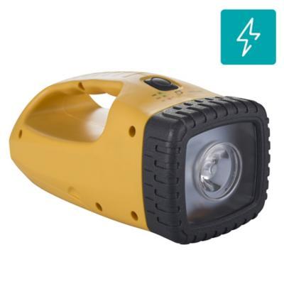 Linterna solar multiuso (Luz LED + Cargador USB)