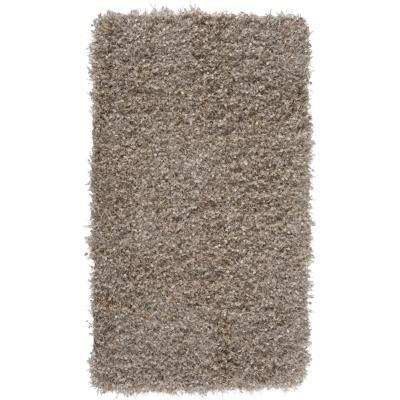 Bajada de cama shaggy sprinkle 60x110 cm beige
