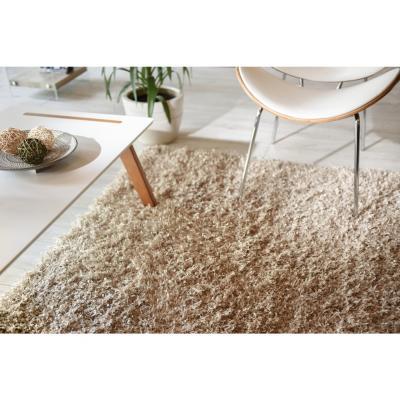Alfombra shaggy sprinkle 120x170 cm beige
