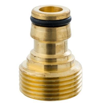 """Conector para manguera 1/2"""" de bronce"""
