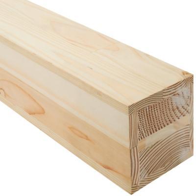 Pilar laminado pino oregón finger 110x110 mm x 2,70 m